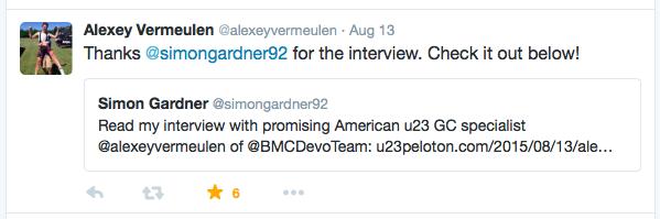 Alexey Vermeulen tweet